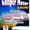 Camper Motor Show a Moncalieri (TO) dal 28 Ottobre al 1 Novembre