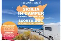 """Grimaldi Lines: Offerta Speciale """"Sicilia in camper"""" e """"Desiderio d'estate"""""""