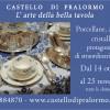 L'arte della bella tavola al Castello di Pralormo (TO), dal 14 ottobre al 25 novembre, ingresso scontato per i soci